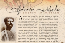 alphonse Mucha biography indesign