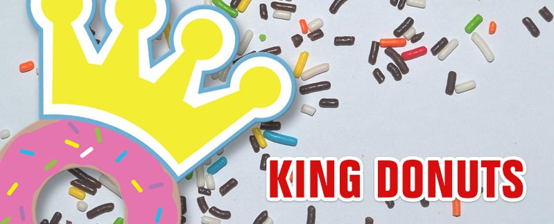 King Donuts Banner