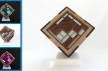 Mondrian Cube Lamp